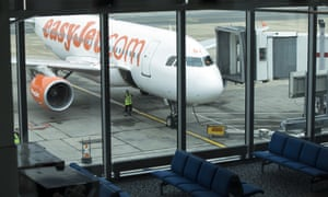 easyJet shares grounded after downgrade.