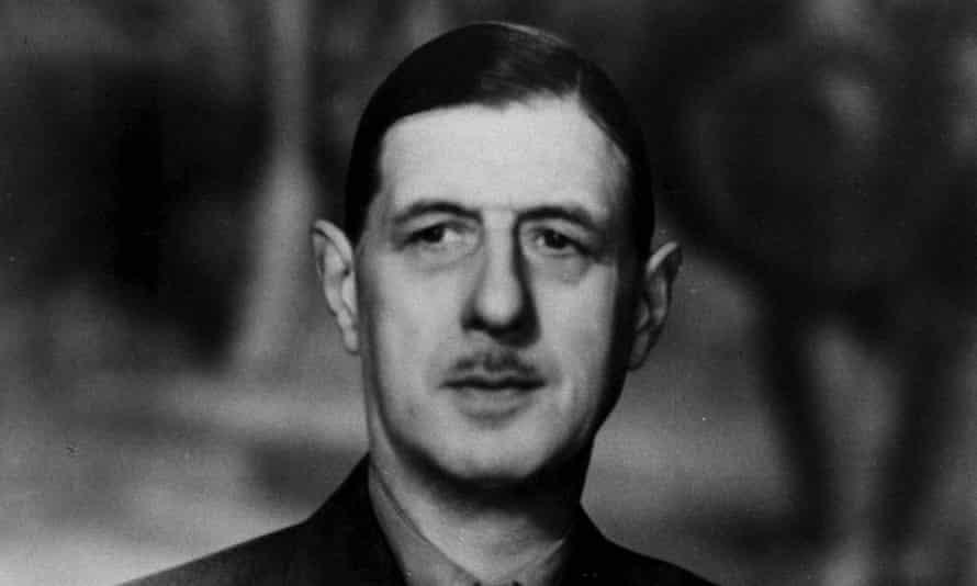 General Charles de Gaulle in 1958.