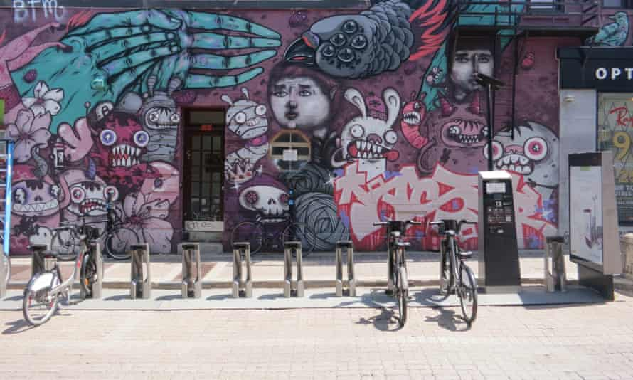 Montreal bike share Bixi