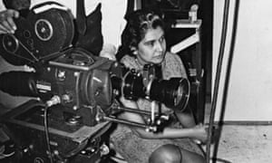 Sarah Erulkar at work. A screening of the classic film Night Mail (1936) inspired her passion for documentary