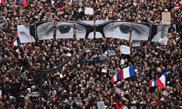 Unity Rally Paris 11 january charlie hebdo