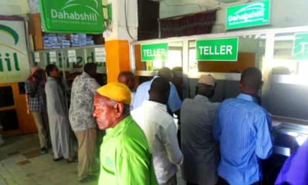 Dahabshiil remittances bank branch Somalia