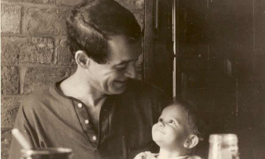 The author with her father, Anatole Broyard.