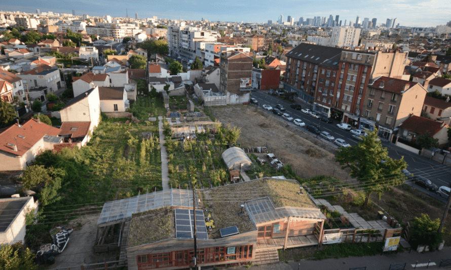The Agrocité project in the suburbs of Paris.
