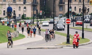 Cycling in Montreal