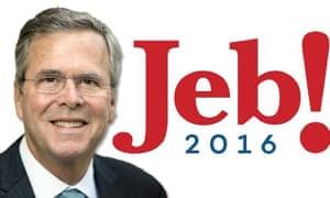 Jeb! campaign logo.