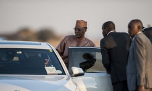 The president of Chad, Idriss Déby, arrives in South Africa last week for an African Union summit. He is expected to return to Chad on Monday.