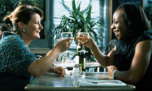 Marianne Jean-Baptiste with Brenda Blethyn in Secrets & Lies.