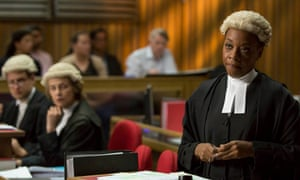 Marianne Jean Baptiste as Sharon Bishop in Broadchurch.
