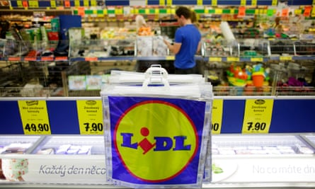 A branch of Lidl in Prague. The funding is intended to help Lidl and its sister chain expand across central and eastern Europe.