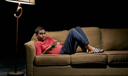 Aziz Ansari: 'a decent, thoughtful, amusing guy, with a genuine interest in the modern dating whirl'