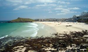 Porthmeor beach, St. Ives, Cornwall