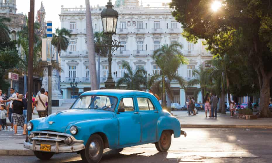 'Havana today can be a jarring collision of the antique and the nouveau.'