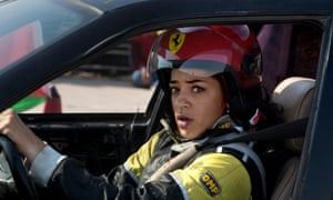 Noor Daoud in a still from Speed Sisters