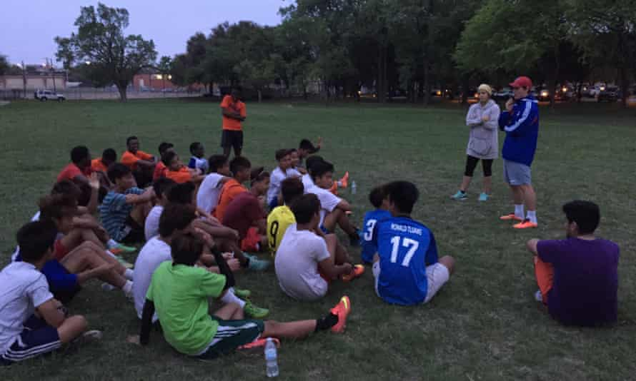 Love is Ministry Dallas soccer