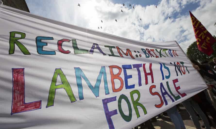 Reclaim Lambeth protest