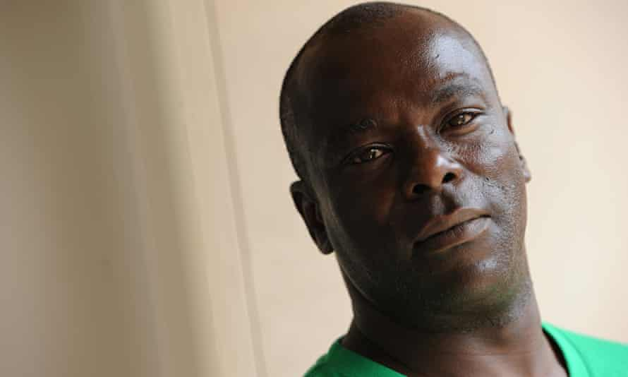 'I'd ask for an apology' …  no one has said sorry, says Kirk Odom. Photograph: Jocelyn Augustino for
