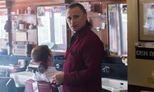 Robert Carlyle directs and stars in The Legend of Barney Thomson.