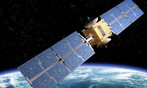 The OneWeb consortium plans to put hundreds of satellites in orbit around the Earth. Picture for illustration purposes only.