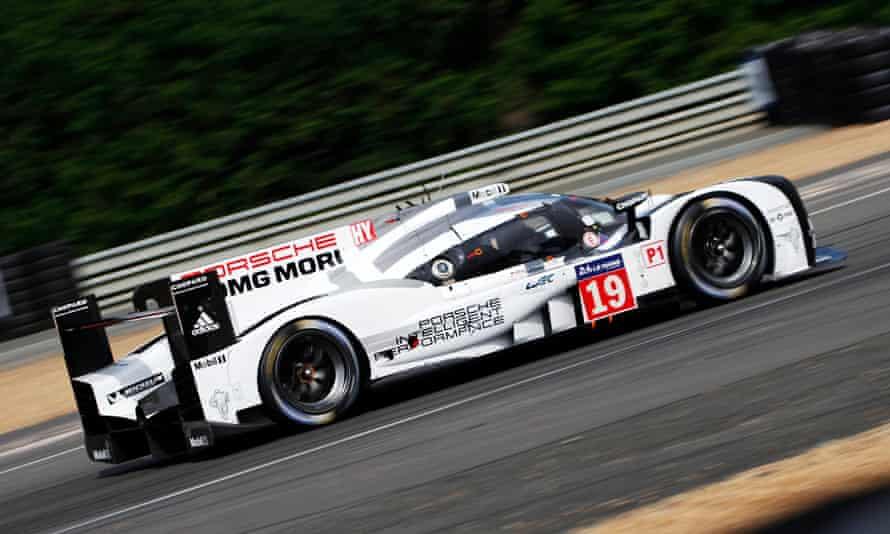 2015 Le Mans-winning Porsche