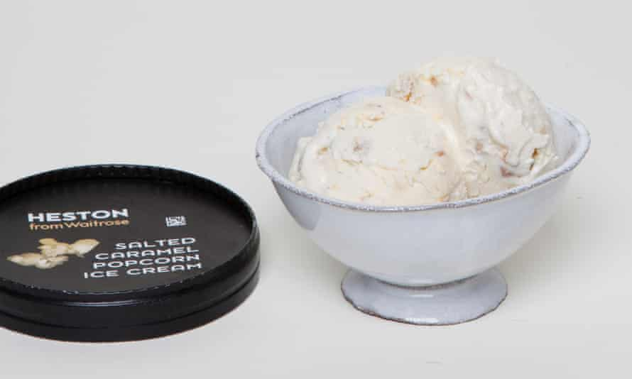 HestonSalted Caramel Popcorn Ice Cream