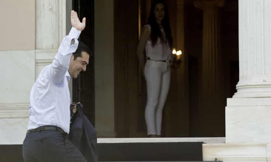 Goodbye to all that? Alexis Tsipras may have set Greece on a route to default and exiting the euro.