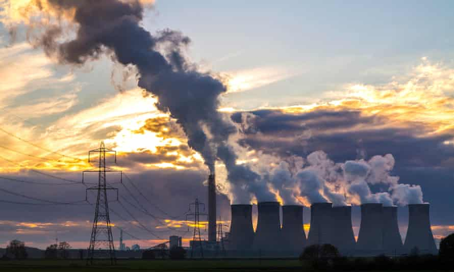 Drax power station was the the largest producer of CO2 in the UK, but is now being fitted for carbon capture.