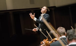 Vasily Petrenko with the Royal Liverpool Philharmonic Orchestra.