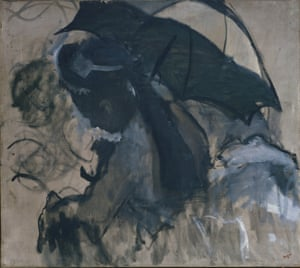 Lady with a Parasol, 1870-72, by Edgar Degas