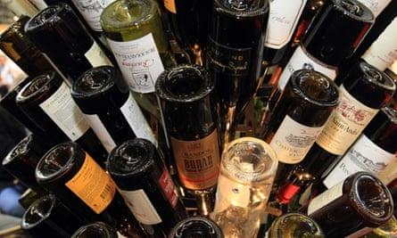 Wine fair in Bordeaux