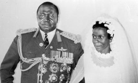 Idi Amin and Sarah Kyolaba