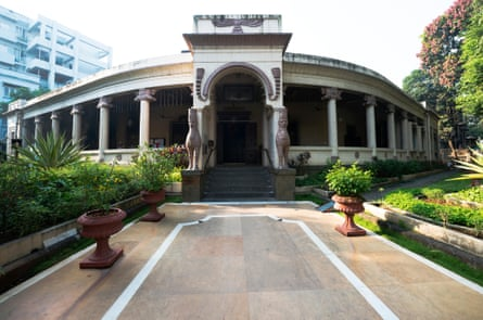 The fire temple in the Parsi colony. The Dadar neighbourhood is the largest Zoroastrian enclave in the world.