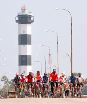 Cycling Yogis group in Chennai