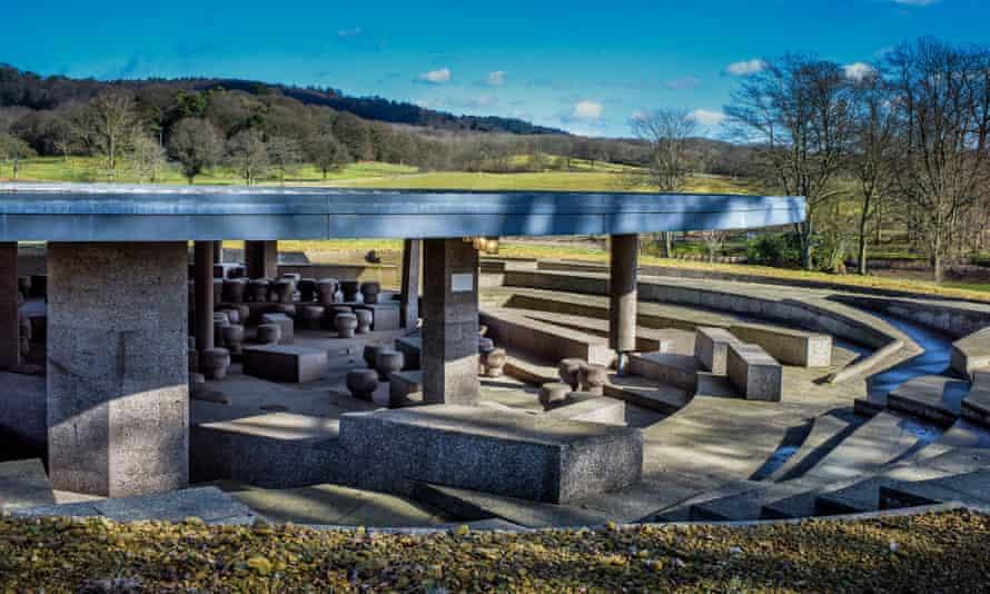 Ai Weiwei's Serpentine pavilion on Usha and Lakshmi Mittal's estate in Surrey