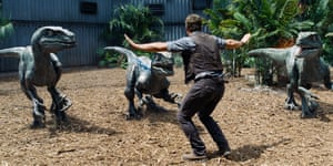 Clever girls ... but did how realistic are these raptors? And how do you go about deciding how a dinosaur would look or move for the big screen?
