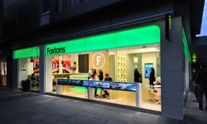 A Foxtons in west London. Each new branch costs about £600,000 to fit out. The company's London rivals typically spend half as much.