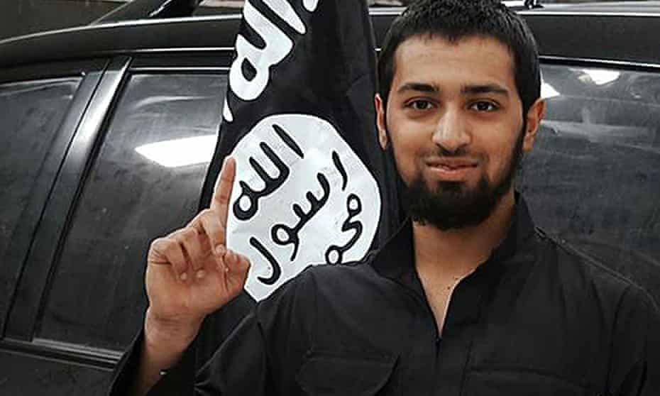 Photo issued by Islamic State of Talha Asmal
