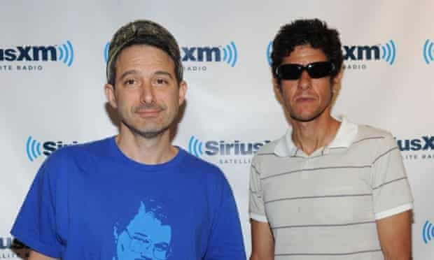 "Beastie Boys Adam ""Ad-Rock"" Horovitz and Michael ""Mike D"" Diamond."