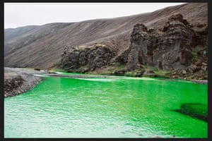 Green river, the Northern Fjallabak Route, Iceland, 1998.