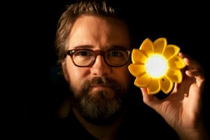 Eliasson's Little Sun is a solar-powered lamp he designed to help the 1.2bn people in the world without electricity.