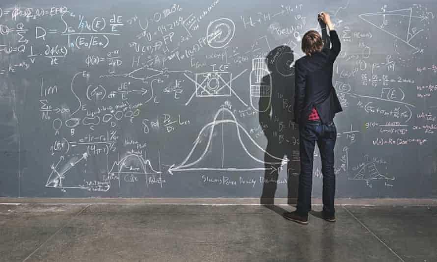 taylor wilson, teen sceince genius, writing sums on a blackboard