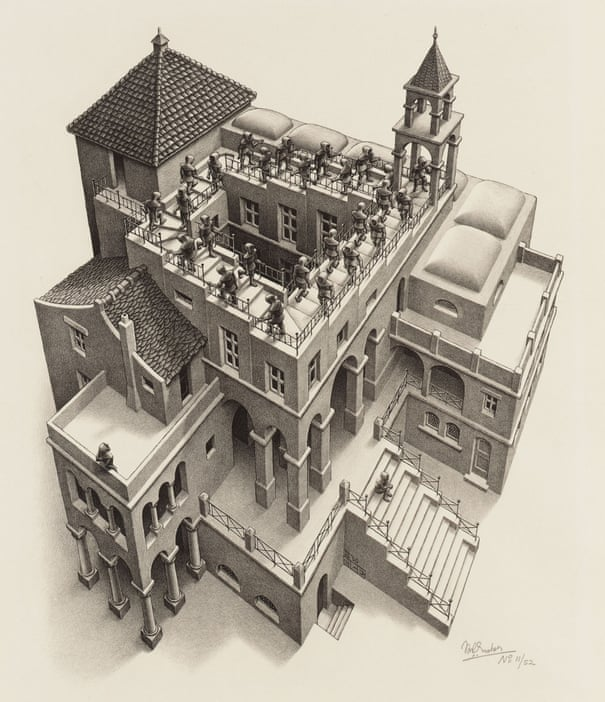 The impossible world of MC Escher | Art and design | The