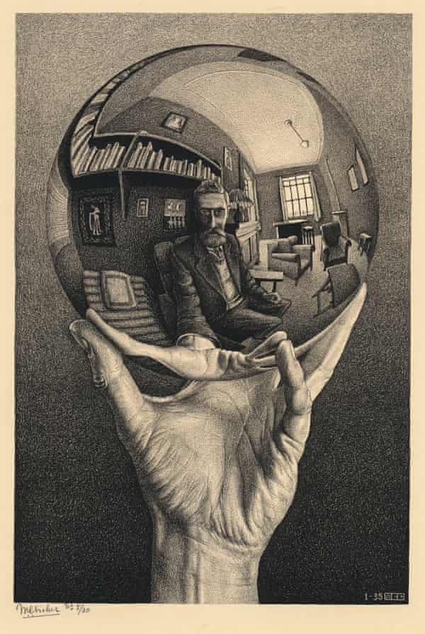 The Impossible World Of Mc Escher Art And Design The Guardian