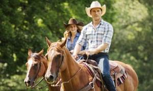 Britt Robertson and Scott Eastwood.