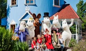 Magic moments: Moominworld theme park.