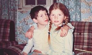 Cathy Rentzenbrink and her brother, Matty, as children