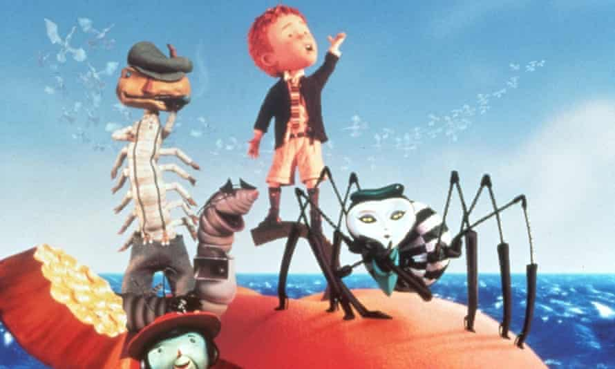 James and the Giant Peach from the 1995 film adaptation.