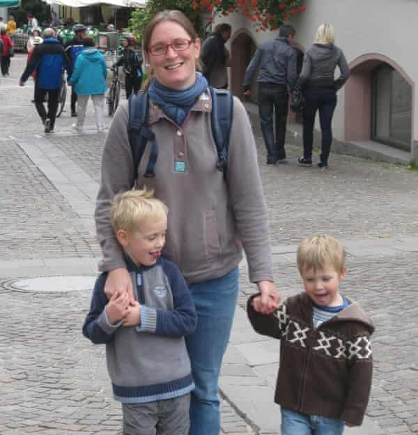 Katie Ritson and sons