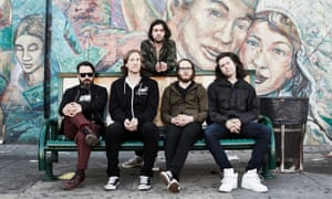 Desaparecidos (with Conor Oberst at back)