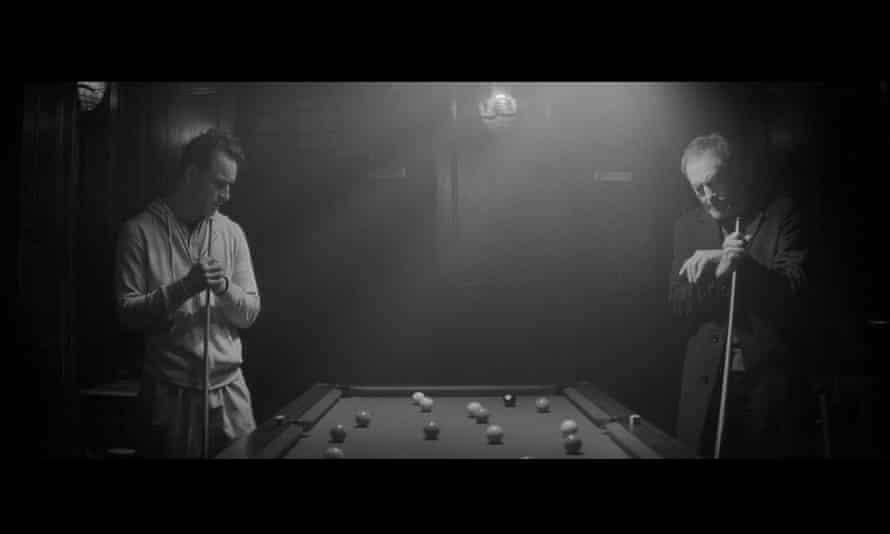 Fassbender and Liam Cunningham in 2011 short Pitch Black Heist.